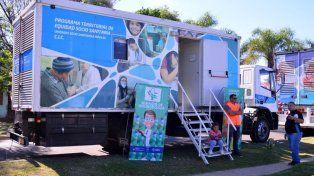 Este martes los camiones sanitarios continúan atendiendo en Puerto Viejo