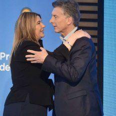 Macri luego del anuncio en la Casa Rosada.