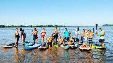 Popularísimo. Por semana, hay entre tres y cinco nuevos adeptos al SUP en Paraná.