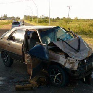 Falleció uno de los accidentados este lunes en la ruta provincial 2