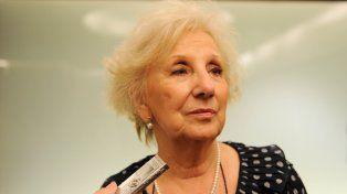 Estela de Carlotto: Macri querrá esa policía que tira por la espalda, nosotros no
