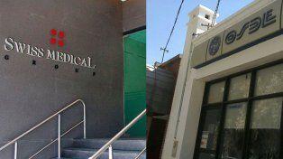 En guerra. Swiss Medical acusa a OSDE de evasión millonaria.