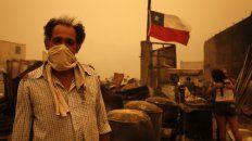 bachelet ratifico el caracter intencional de los incendios: son 43 los detenidos
