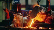 la actividad industrial acumula once meses en caida libre