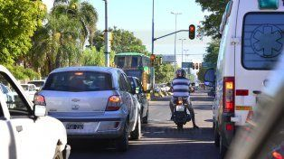 Modernos. En Paraná hay 90 esquinas que tienen semáforos