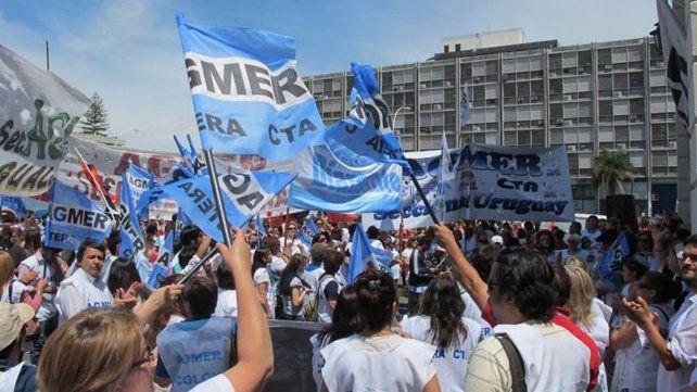El viernes habrá una nueva jornada provincial de protesta de Agmer