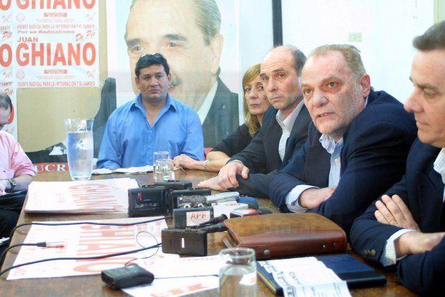 Falleció el exsenador radical Juan Enrique Ghiano