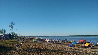 Polémica. Para CARU, hay playas que deberían ser inhabilitadas.