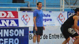El joven coach tuvo su primer entrenamiento ayer por la tarde en el Butta. Debuta el sábado.