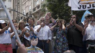 Marcha docente en Buenos Aires