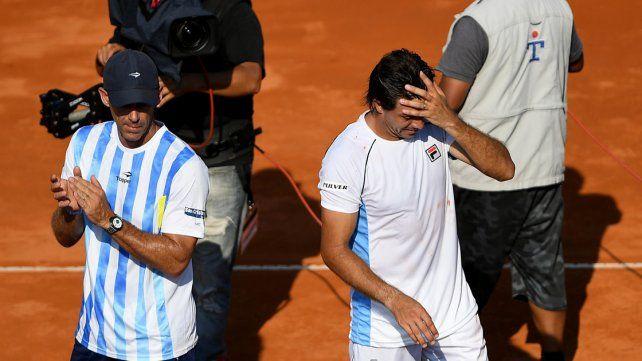 Berlocq también perdió y Argentina quedó 0-2 ante Italia