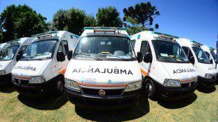 La Nación otorgó cuatro ambulancias a Entre Ríos