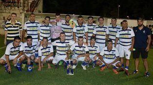 En el Mutio. Las finales de la Liga de Altos del Paracao se disputaron en la cancha de Atlético Paraná
