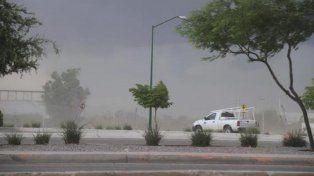 Rige un alerta por vientos intensos con ráfagas para el sur de Entre Ríos