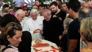 Lula Da Silva, en el funeral de su mujer: Marisa murió triste por las maldades que le hicieron