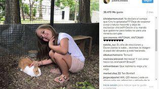 Polémica en las redes por una foto de Antonia