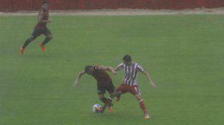Telechea marcó el tanto que significó la victoria Santa en el estadio 15 de Abril.