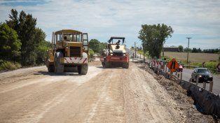 El puente sobre el arroyo Salto, en la ruta 11, estará terminado en abril