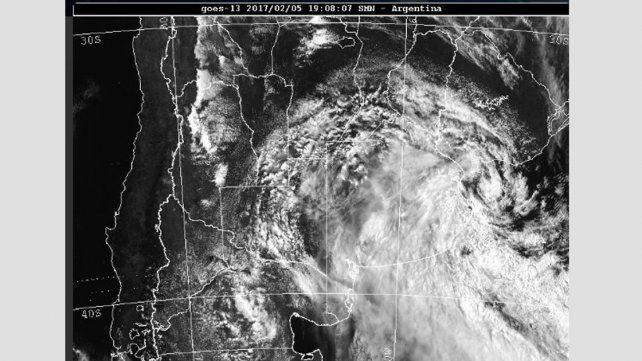 Entre Ríos bajo la influencia de un ciclón extratropical