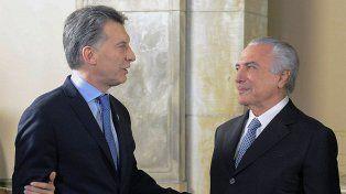 Macri viaja a Brasil para fortalecer la relación y afirmar el Mercosur