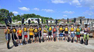 Los chicos se muestran muy contentos con realizar una actividad deportiva durante un par de meses.