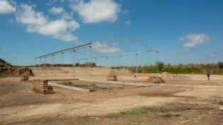 Avances. La comuna adquirió cinco hectáreas para la planta.