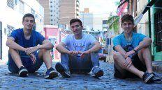 Los tres chicos de Paraná coincidieron en que la experiencia fue única e inolvidable.