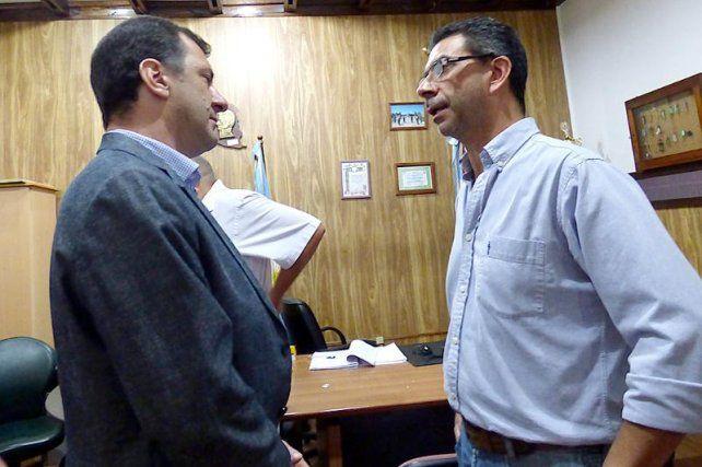 Kueider se reunió con los trabajadores de LT11 en Concepción