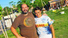 Jamardo y Almada, juntos tras un sueño.