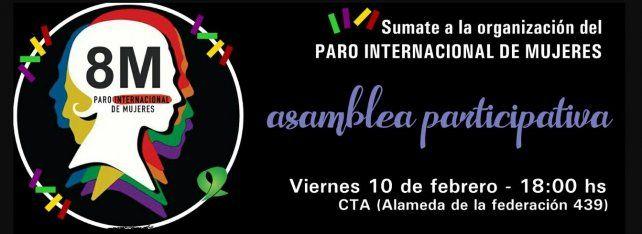 Las mujeres de Paraná se organizan de cara al paro del 8 de marzo