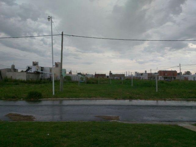 El cielo de tormenta en San Benito.