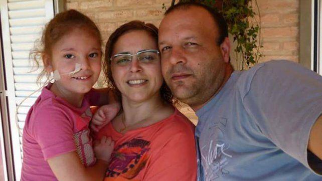 Beneficios. Matías y Fernanda comprobaron con su hija Stefy las bondades de esta disciplina.