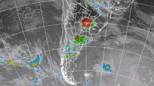 Renovaron el alerta por tormentas fuertes para el norte entrerriano