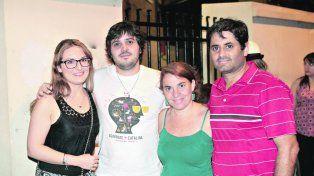 Agarrate Catalina se presentó en Paraná