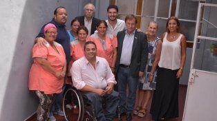 Triaca visitó la fundación Petropack