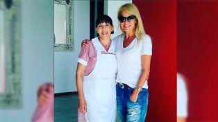 En Chile estalló la polémica contra Cecilia Bolocco por la foto con una mucama