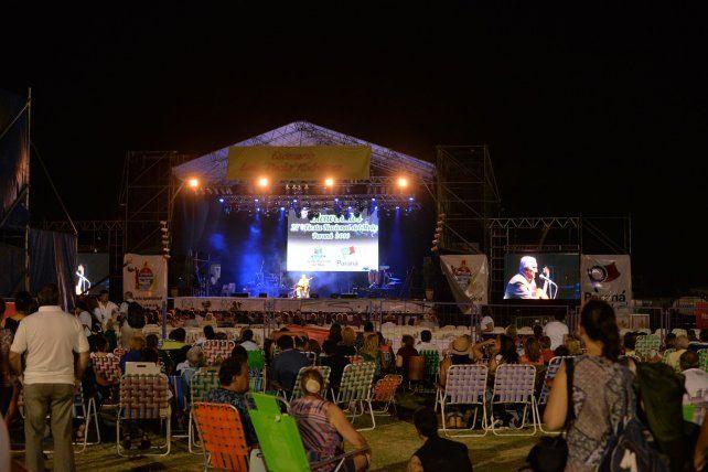 Está suspendida la segunda noche de la Fiesta Nacional del Mate