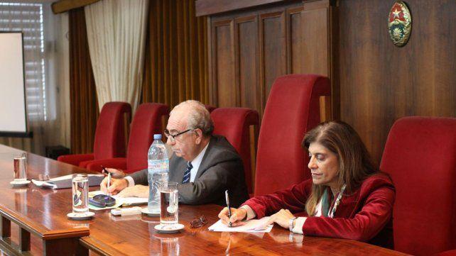 Juicio político. Chiara Díaz y Miazawak fueron los dos jueces más visibles del proceso reciente.