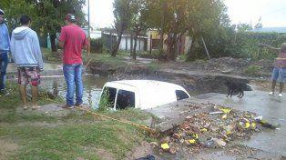 El Gobierno asiste a Concepción del Uruguay y monitorea el impacto de las fuertes lluvias