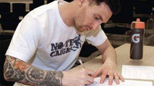 Otro gran gesto de Lionel Messi: donó más de cuatro millones para recuperar un polideportivo en Argentina