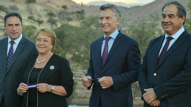 Macri y Bachelet apoyan el proceso de convergencia entre el Mercosur y la Alianza del Pacífico