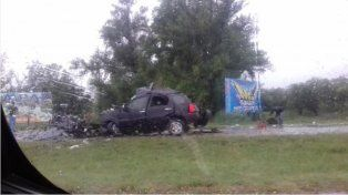Una familia murió tras el trágico accidente en la ruta nacional 12