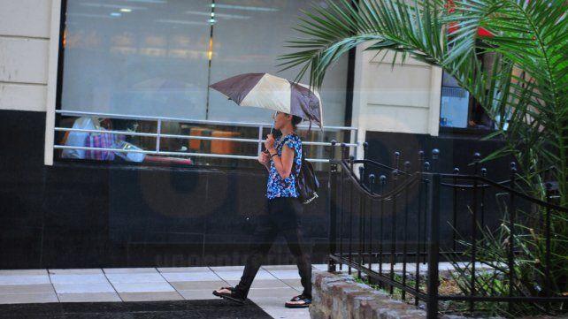 Seguirá el mal tiempo en la provincia con lluvias durante gran parte del día