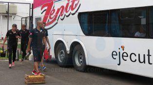 El plantel de Patronato emprendió viaje ayer al mediodía rumbo a la capital correntina.