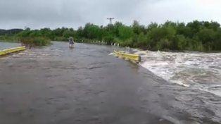 Gualeguaychú sin playas, tras las lluvias, por la crecida del río homónimo