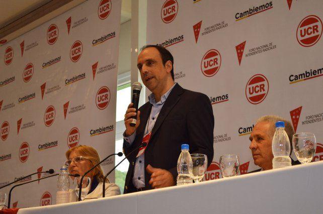 Alfonsín criticó a Del Corral