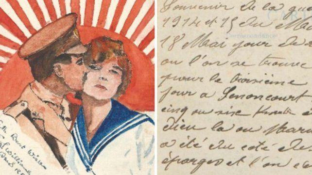 Las mejores cartas de amor de la Primera Guerra Mundial