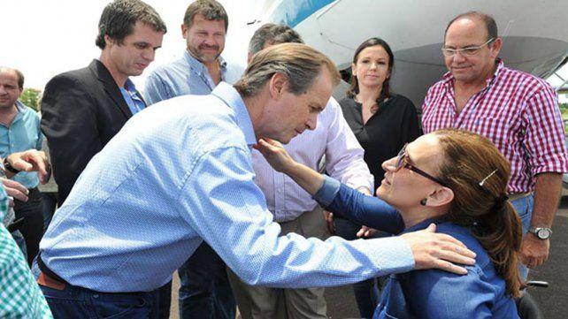 Michetti, a favor de incorporar al gobernador Bordet a Cambiemos