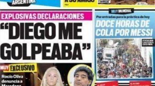 El día que Rocío se quebró: Diego me golpea como a un hombre