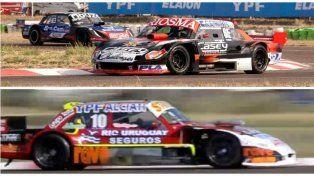 Trosset y Pérez se quedaron con las series del TC Pista